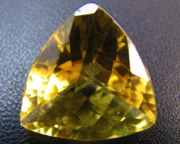 18.95 Cts Large Vibrant  faceted clean Citrine GG 2268