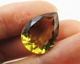 12.7 Cts Large Vibrant  faceted clean Citrine GG 2269