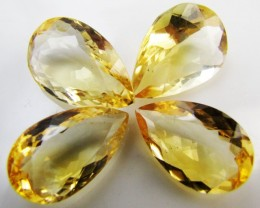 31.2 Cts Parcel faceted clean Citrine GG 2280
