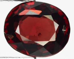 1.70ct Orange-Red Quality Flame Spinel VVS RS14/2