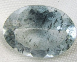 11.2 Cts Nigerian Moss aquamarine  GG 2312