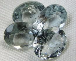 9.9 Cts Nigerian Moss aquamarine  GG 2322