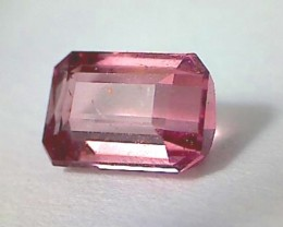 .95 Emerald cut Candy Pink Tourmaline, Africa RS31/4