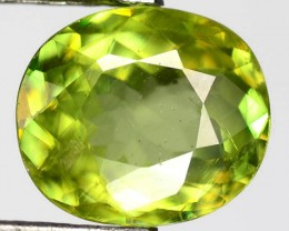 1.75ct Gorgeous Yellow Green Oval Mali GarnetW Africa RS25/2