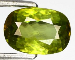 1.75ct Gorgeous Yellow Green Oval Mali GarnetW Africa RS25/3