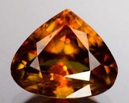 2.10ct Firey Golden Orangy Brown Quality Sphene , VVS RS11/1