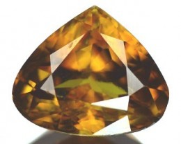 2.10ct Firey Golden Orangy Brown Quality Sphene , VVS RS11/1