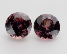 5.1ct Zircon Pair(PG-R-1-MJ)