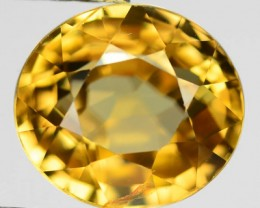 Brilliance of a Diamond 3.50ct Golden Yellow Sphene RS12/2