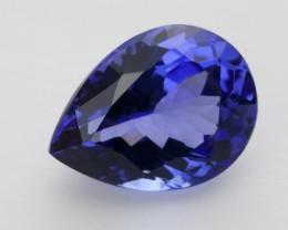 2.8ct Standard Blue Pear Tanzanite (PG-78-84-MJ)