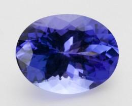 3.5ct Standard Blue Oval Tanzanite (PG-78-91-MJ)
