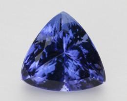 4.2ct Blue Triangle Cushion Tanzanite (PG-86-22-MW)