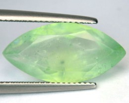7.48 Cts Natural Mint Green African Prehenite Marquise Cut