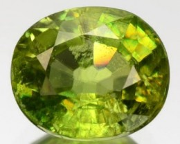 Sparkles with Brilliance Bright YellowGreen Sphene VVSRS33/4