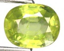 Sparkles with Brilliance Bright YellowGreen Sphene VVSRS33/5