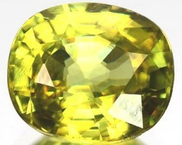 Sparkles with Brilliance BrightYellow Green Sphene VSRS33/7