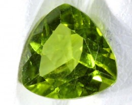 PERIDOT FACETED STONE 1.3 CTS TBG 667