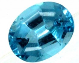 BLUE TOPAZ  NATURAL STONE FACETED 2.6  CTS TBG 676