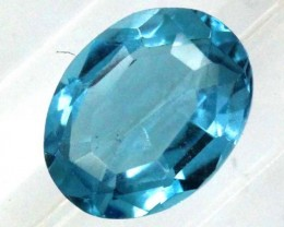 BLUE TOPAZ  NATURAL STONE FACETED  2.1 CTS TBG 679