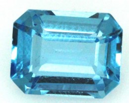 BLUE TOPAZ  NATURAL STONE FACETED  2.8 CTS TBG 683