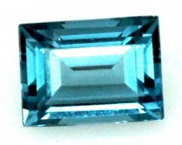 BLUE TOPAZ  NATURAL STONE FACETED  2 CTS TBG 686