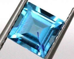 BLUE TOPAZ  NATURAL STONE FACETED  2 CTS TBG 694