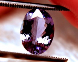 2.55 Carat VVS1 African Purple / Blue Tanzanite - Superb
