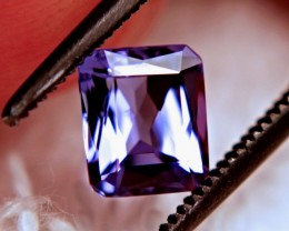 1.04 Carat VVS African Purple / Blue Tanzanite - Gorgeous