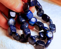 606 Tcw. Lapis Lazuli Strand - 16 inches - Beautiful