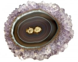 AMETHYST STLACTITE  FLOWERS 81.8  CTS  SG-1944