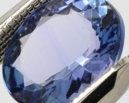 SPARKLING FINE MIND BOCCLING NATURAL BLUE TANZANITE 1.915Cts