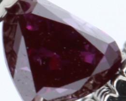 TOP LUSTER RARE NATURAL REDDISH PINK DIAMOND 0.125Cts