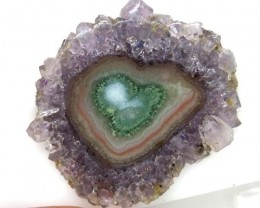 AMETHYST STLACTITE  FLOWERS 37.2  CTS  SG- 1958