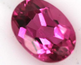 HOT PINK TOURMALINE FACETED STONE 0.70 CTS TBG-736