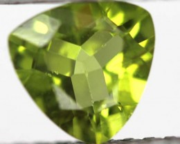 GREEN PERIDOT FACETED STONE 1.5   CTS    SG -1969