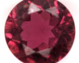 REDDISH PINK TOURMALINE  FACETED 0.9  CTS TBG-742