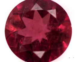 REDDISH PINK TOURMALINE  FACETED 0.85  CTS TBG-744
