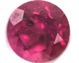 REDDISH PINK TOURMALINE  FACETED 1.05  CTS TBG-746