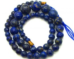 LAPIS BEADS DRILLED  NATURAL  157.5  CTS NP-233
