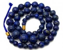 LAPIS BEADS DRILLED  NATURAL  152.5  CTS NP-234
