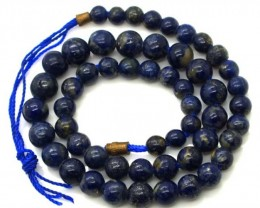 LAPIS BEADS DRILLED  NATURAL  135 CTS NP-235