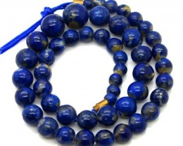 LAPIS BEADS DRILLED  NATURAL  175  CTS NP-240