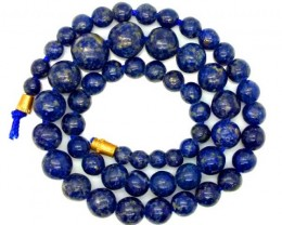 LAPIS BEADS DRILLED  NATURAL 130   CTS NP-245