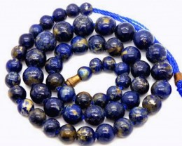 LAPIS BEADS DRILLED  NATURAL 145   CTS NP-246