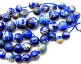 LAPIS BEADS DRILLED  NATURAL  165  CTS NP-241