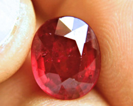 6.12 Carat VS2 Ruby - Superior Flash and Fire