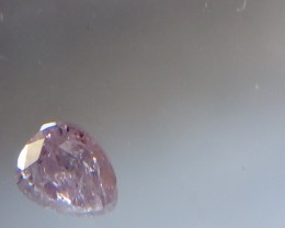 NATURAL ,ARGYLE, PURPLEPINK DIAMOND,0.65CTW,PEARS ,1PCS