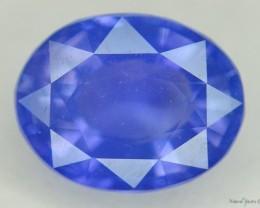 NR 1.3 ct CERTIFIED STUNNING BLUE KASHMIR SAPPHIRE