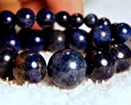 521 Tcw Himalayan Lapis Kazuli Strand - Beautiful Stones