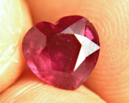 2.77 Carat Cherry Ruby - Fiery and Gorgeous